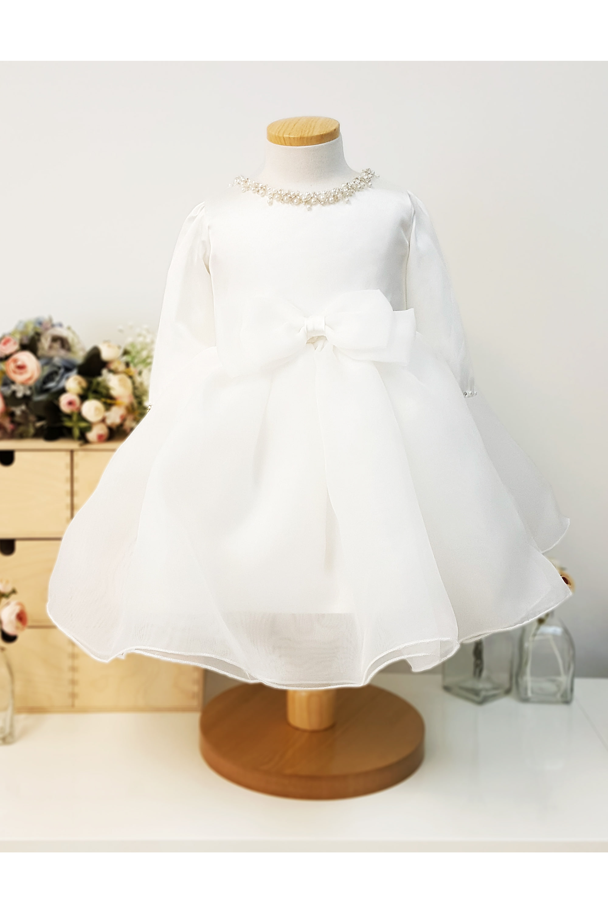 flower girl, baby dress