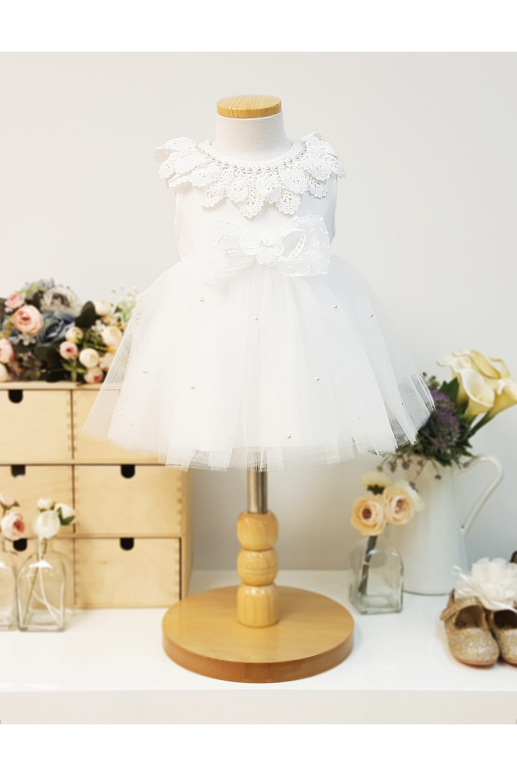 baby dress, flower girl
