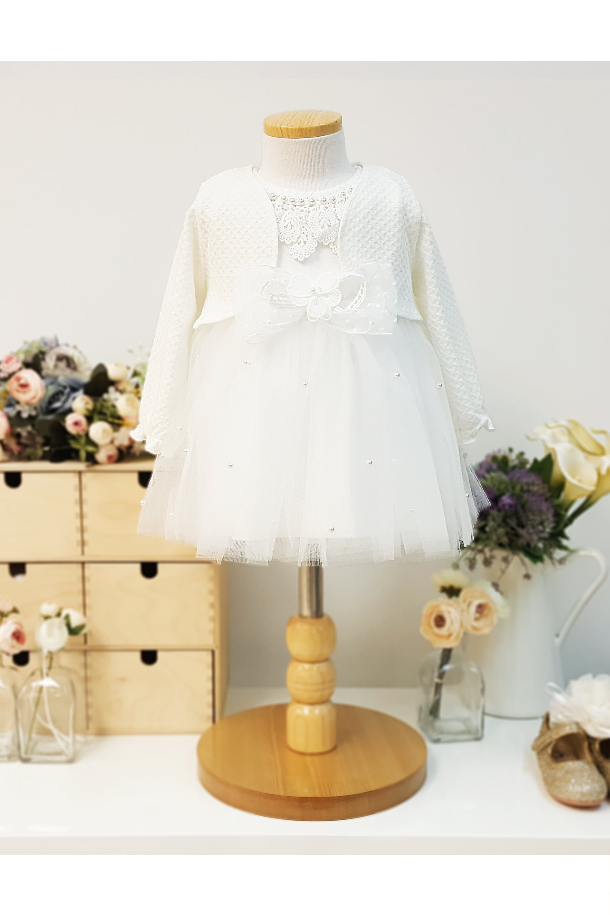 flower girl, baby dress, first birthday